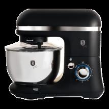 Elektromos konyhai robotgép rozsdamentes keverőtállal, 4 liter, 600 W, fekete