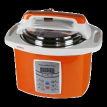Mama's Pressure Cooker magas nyomású főzőedény digitális kijelzővel, 6 L