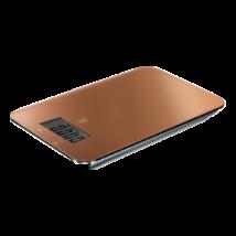 Digitális konyhai mérleg LCD kijelzővel, rosegold