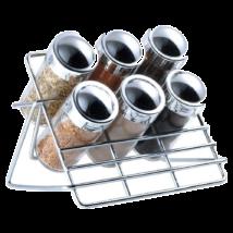 7 részes asztali fűszertartó