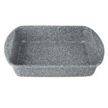Berlinger Haus Stone Touch Line Magas tepsi kő hatású márvány bevonattal, szürke