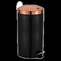 Berlinger Haus Black Rose rozsdamentes szemetes metál külső bevonattal, 30 L, fekete/rosegold