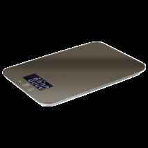 Digitális konyhai mérleg LCD kijelzővel, carbon