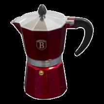 """6 személyes """"kotyogós"""" kávéfőző, burgundy"""