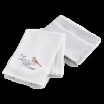 Love Home 2 db-os konyhai törlőkendő készlet, 50*70 cm, fehér/szürke