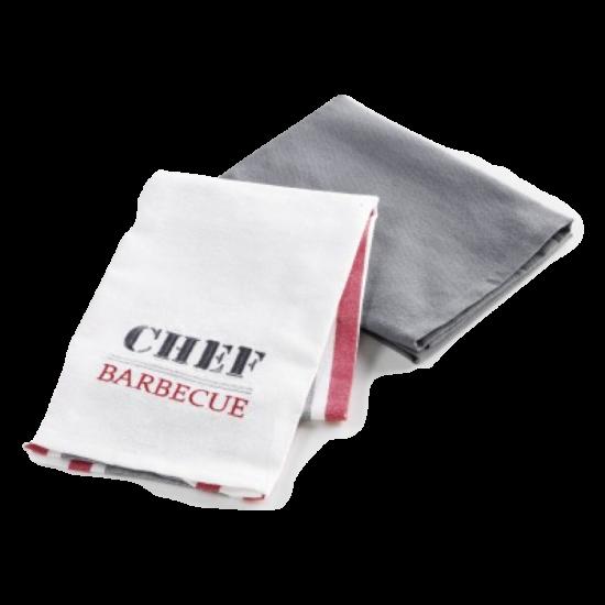 Chef Barbecue 2 db-os konyhai törlőkendő készlet.jpg