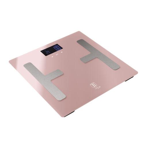Berlinger Haus I-Rose Collection digitális testanalizáló személymérleg, pink